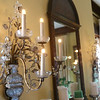Light fixtures from Cole Porter's Paris apartment now hang in Westleigh Farms in Peru, Indiana, on September 28, 2019.<br /> Kelly Lafferty Gerber | Kokomo Tribune