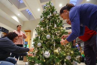We Care Trim-A-Tree setup at Markland Mall on Sunday Oct. 27, 2019. Tim Bath | Kokomo Tribune