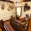 Chandelier from Cole Porter's Paris apartment now hangs at Westleigh Farms in Peru, Indiana, on September 28, 2019.<br /> Kelly Lafferty Gerber | Kokomo Tribune