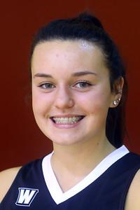 Western HS girls basketball - Karson Lechner  - Oct. 31, 2019. Tim Bath | Kokomo Tribune