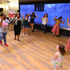 Students learn Bollywood Dance from Jenny Bhupatkar and Prerna Shraff at the Culture Bash at IUK introducing students and the public to world cultures and food on Sept. 18, 2019. Bollywood is a mix of traditional Indian dance.<br /> Tim Bath | Kokomo Tribune
