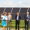 The Tipton Solar Park on 31 acres along Indiana 28 was dedicated with Congresswoman Susan Brooks speaking on Sept. 30, 2019. The 17,496 panels produce just over 5 1/4 megawatts of energy. <br /> Tim Bath | Kokomo Tribune