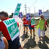 Multiple unions comprising of hundreds of people came together Friday Sept. 19, 2019, to rally around the striking picketers from local 292 who work at the Kokomo GM Component Holding facility along Guyer Road. <br /> Tim Bath | Kokomo Tribune