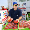 Food Finders, United Way and UAW 292 teamed up to get a food truck for striking GM workers on Sept. 27, 2019. Don Mills volunteered his time to give out food to fellow UAW 292 members in the parking lot of North Central Outdoor Power.<br /> Tim Bath | Kokomo Tribune
