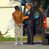 Five people have been arrested after a shootout and high speed chase on Monday evening September 2, 2019. The shootout occured at Dunbar Court located at 901 N. Jay. A red Ford F150 truck was finally stopped in the 600 block of south Jay where 3 were detained. About a half hour later this guy the 4th suspect was taken into custody in the 800 block of East King. The 5th at Vaile and Ohio. Three guns and a bag of drug were also recovered at 3 different locations.<br /> Tim Bath | Kokomo Tribune