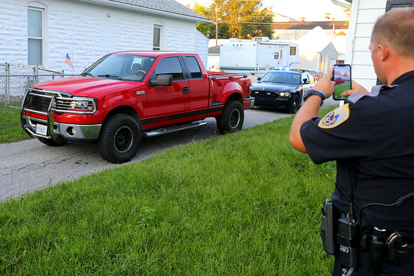 Five people have been arrested after a shootout and high speed chase on Monday evening September 2, 2019. A red Ford F150 truck was finally stopped in the 600 block of south Jay where 3 were detained. Later one in the 800 block of East King and finally the 5th at Vaile and Ohio. Three guns and a bag of drug were also recovered at 3 different locations.<br /> Tim Bath   Kokomo Tribune
