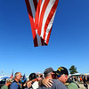 Rich Monts from Leigh High Valley, Pennsylvania hugs a fellow vet after the playing of Taps at the annual Vietnam Veterans Reunion on Sept. 19, 2019.<br /> Tim Bath   Kokomo Tribune