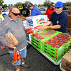 Food Finders, United Way and UAW 292 teamed up to get a food truck for striking GM workers on Sept. 27, 2019. <br /> Tim Bath | Kokomo Tribune