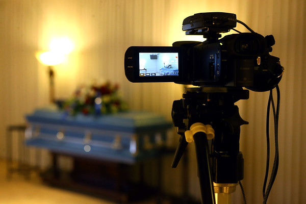 Shirley & Stout Funeral Home has started livestreaming funerals.<br /> Kelly Lafferty Gerber | Kokomo Tribune