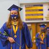 Tri-Central High School graduation on Saturday, August 1, 2020.<br /> Kelly Lafferty Gerber | Kokomo Tribune
