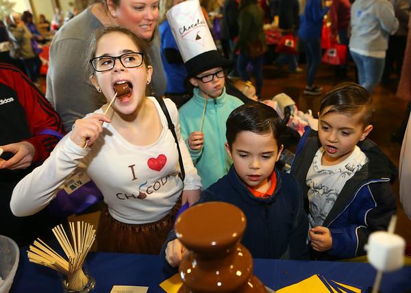18th annual Chocolate Celebration, benefiting the Samaritan Caregivers, at Kokomo's First Church of the Nazarene on Friday, Feb. 7, 2020.<br /> Kelly Lafferty Gerber | Kokomo Tribune