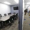 Conference room and halloway on the administration side of the new Tipton jail on Thursday, Feb. 20, 2020.<br /> Kelly Lafferty Gerber | Kokomo Tribune