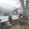 One person died and another taken to the hospital after a Saturday afternoon fire at 1827 South Lafountain Street on February 15, 2020. <br /> Tim Bath | Kokomo Tribune