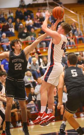 2-14-20<br /> Cass vs Western boys basketball<br /> <br /> Kelly Lafferty Gerber | Kokomo Tribune