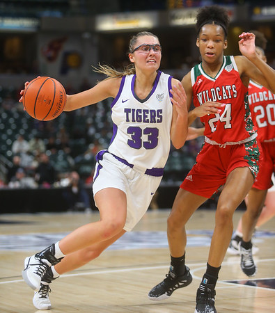 2-29-20<br /> Northwestern falls to Lawrence North 59-46 in the girls basketball 4A state final.<br /> Kelly Lafferty Gerber | Kokomo Tribune