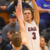 2-14-20<br /> Cass vs Western boys basketball<br /> Cass' Easton Good shoots a three.<br /> Kelly Lafferty Gerber | Kokomo Tribune