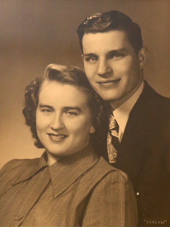 Thelma and Ray Bowland have been married for 71 years.<br /> Photo Provided