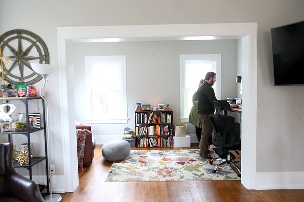 Natalie Guest Bourne and husband Nolan's house on February 4, 2020.<br /> Tim Bath   Kokomo Tribune