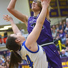 2-15-20<br /> Northwestern vs Homestead girls basketball regional championship<br /> Madison Layden shoots.<br /> Kelly Lafferty Gerber | Kokomo Tribune