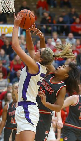 2-15-20<br /> Northwestern vs Fishers girls basketball regional semi-final<br /> <br /> Kelly Lafferty Gerber | Kokomo Tribune