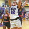 2-15-20<br /> Northwestern vs Fishers girls basketball regional semi-final<br /> Ellie Boyer puts up a shot.<br /> Kelly Lafferty Gerber | Kokomo Tribune