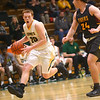 2-18-20<br /> Eastern vs Alexandria boys basketball<br /> Austin Roberts takes the ball to the basket.<br /> Kelly Lafferty Gerber | Kokomo Tribune