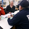 Local police and fire officials are doing critical incident stress management training at the Community Howard Regional Health on February 7, 2020. Before doing role playing Kokomo Firefighers Josh Hedrick, Scott McKay and Landen Bartley discuss what they already do after a critical incident. <br /> Tim Bath | Kokomo Tribune