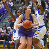 2-15-20<br /> Northwestern vs Homestead girls basketball regional championship<br /> Kendall Bostic looks to the basket.<br /> Kelly Lafferty Gerber | Kokomo Tribune