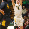 2-18-20<br /> Eastern vs Alexandria boys basketball<br /> Levi Mavrick puts up a three.<br /> Kelly Lafferty Gerber | Kokomo Tribune