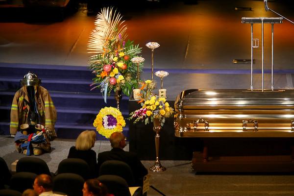 Funeral for Jeff Stout at Crossroads Community Church on February 14, 2020.<br /> Tim Bath | Kokomo Tribune