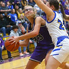 2-15-20<br /> Northwestern vs Homestead girls basketball regional championship<br /> Madison Layden heads to the basket.<br /> Kelly Lafferty Gerber | Kokomo Tribune