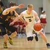 2-18-20<br /> Eastern vs Alexandria boys basketball<br /> Levi Mavrick takes the ball down the court.<br /> Kelly Lafferty Gerber   Kokomo Tribune