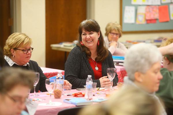 Galentine's Day at Kokomo-Howard County Public Library's South branch on Thursday, Feb. 13, 2020.<br /> Kelly Lafferty Gerber | Kokomo Tribune
