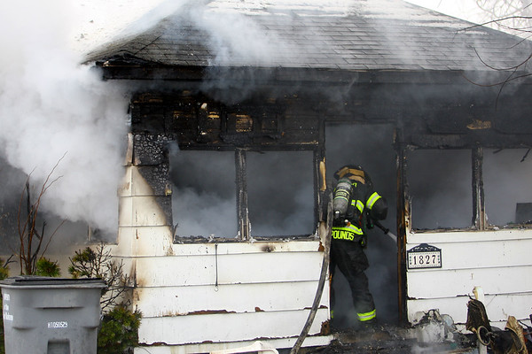 One person died and another taken to the hospital after a Saturday afternoon fire at 1827 South Lafountain Street on February 15, 2020. <br /> Tim Bath   Kokomo Tribune