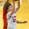 2-21-20<br /> Kokomo vs Anderson boys basketball<br /> Kokomo's Bobby Wonnell puts up a shot.<br /> Kelly Lafferty Gerber | Kokomo Tribune