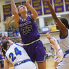 2-15-20<br /> Northwestern vs Homestead girls basketball regional championship<br /> Madison Layden puts up a shot.<br /> Kelly Lafferty Gerber | Kokomo Tribune