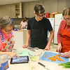 Chopped competition on Tuesday, Feb. 18, 2020, where Western Middle School FACS club students and Waterford Place residents teamed up to prepare and cook a dish using certain ingredients in 45 minutes.<br /> Kelly Lafferty Gerber | Kokomo Tribune