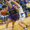 2-15-20<br /> Northwestern vs Homestead girls basketball regional championship<br /> Klair Merrell heads down the court.<br /> Kelly Lafferty Gerber | Kokomo Tribune