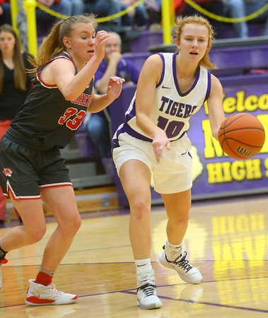 2-15-20<br /> Northwestern vs Fishers girls basketball regional semi-final<br /> <br /> Kelly Lafferty Gerber | Kokomo Tribune