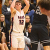 2-14-20<br /> Cass vs Western boys basketball<br /> Cass' Isaac Chambers shoots.<br /> Kelly Lafferty Gerber | Kokomo Tribune