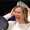 Ashley Shanks tries on tiaras at The Tiara Lady's booth at the Heartland Bridal show at the Kokomo Event and Conference Center on February 29, 2020.<br /> Tim Bath | Kokomo Tribune