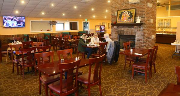 The dining area of Lucky Indian Cuisine on Wednesday, Feb. 12, 2020.<br /> Kelly Lafferty Gerber   Kokomo Tribune