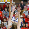 2-15-20<br /> Northwestern vs Fishers girls basketball regional semi-final<br /> Kendall Bostic shoots.<br /> Kelly Lafferty Gerber | Kokomo Tribune