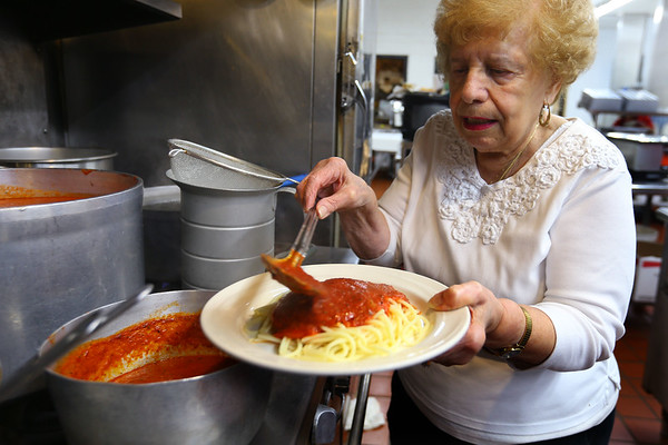 Angela Martino from Martino's Italian Villa in Kokomo on February 7, 2020.<br /> Tim Bath | Kokomo Tribune