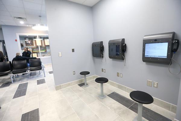 Video visitation at the new Tipton jail on Thursday, Feb. 20, 2020.<br /> Kelly Lafferty Gerber | Kokomo Tribune
