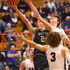 2-14-20<br /> Cass vs Western boys basketball<br /> Western's Evan Kretz puts up a shot.<br /> Kelly Lafferty Gerber | Kokomo Tribune