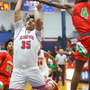 2-21-20<br /> Kokomo vs Anderson boys basketball<br /> Shayne Spear puts up a shot.<br /> Kelly Lafferty Gerber | Kokomo Tribune
