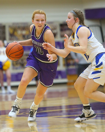 2-15-20<br /> Northwestern vs Homestead girls basketball regional championship<br /> <br /> Kelly Lafferty Gerber | Kokomo Tribune