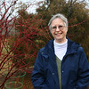 Master gardener Emily Roark in her backyard.<br /> Kelly Lafferty Gerber | Kokomo Tribune