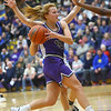 2-15-20<br /> Northwestern vs Homestead girls basketball regional championship<br /> Klair Merrell heads to the basket.<br /> Kelly Lafferty Gerber | Kokomo Tribune